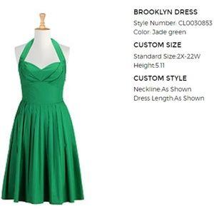 Halter Top Fit & Flare dress
